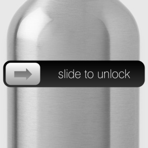 slide to unlock T-Shirts - Water Bottle