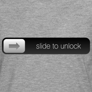slide to unlock T-Shirts - Men's Premium Longsleeve Shirt