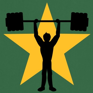 weightlifting_star T-skjorter - Kokkeforkle
