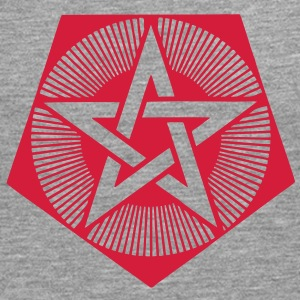 Light Pentagram - crop circle - Bedfordshire GB T-Shirts - Men's Premium Longsleeve Shirt