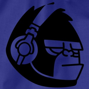 Gorilla Headphones Music T-shirts - Sportstaske