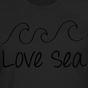 Love Sea Frauen Girlishirt Chocolate - Männer Premium Langarmshirt
