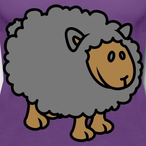 Sheep T-shirts - Premiumtanktopp dam