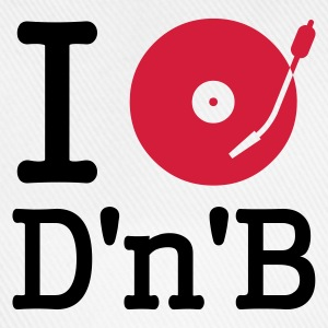 :: I dj / play / listen to drum and bass :-: - Baseballkappe