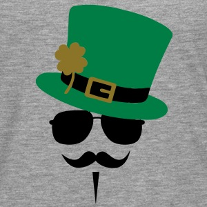 Go Green Moustache T-Shirts - Men's Premium Longsleeve Shirt
