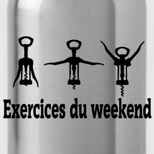 exercices weekend Tee shirts - Gourde