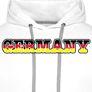 germany T-Shirts - Men's Premium Hoodie