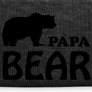papa bear daddy dad T-Shirts - Winter Hat