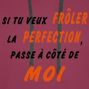 perfection Tee shirts - Sweat-shirt à capuche Premium pour hommes