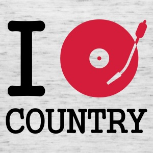 :: I dj / play / listen to country :-: - Dame tanktop fra Bella