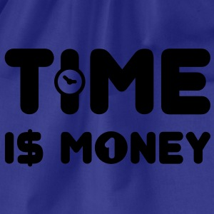 time is money - US - Turnbeutel