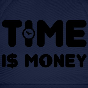 time is money - US - Baseballkappe