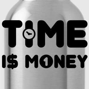 time is money - US - Trinkflasche