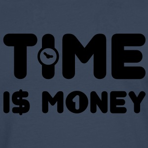 time is money - US - Männer Premium Langarmshirt