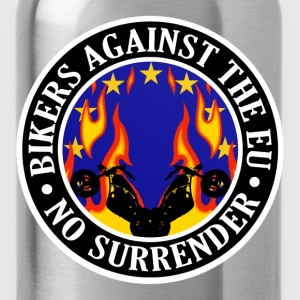 Anti EU Bikers Against The EU 001 Shirts - Water Bottle
