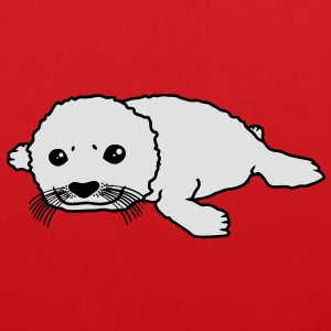 cute_baby_seal T-Shirts - Stoffbeutel
