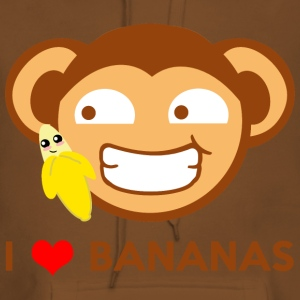 Monkey Loves Bananas - Affe liebt Bananen T-Shirts - Frauen Premium Hoodie