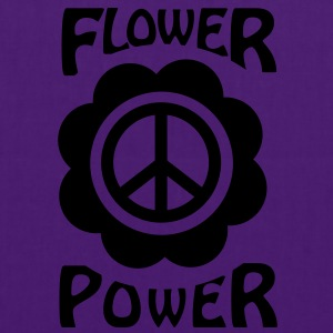 flower power T-shirts - Tas van stof