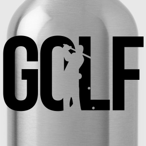 golf T-shirts - Drinkfles