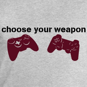 choose your weapon T-shirts - Mannen sweatshirt van Stanley & Stella