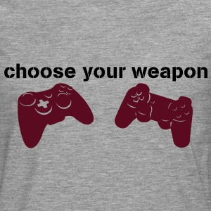 choose your weapon Tee shirts - T-shirt manches longues Premium Homme