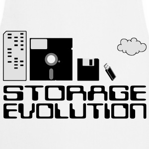 personal computer storage evolution T-Shirts - Cooking Apron