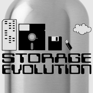 personal computer storage evolution T-Shirts - Water Bottle