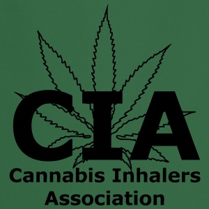 CIA - Cannabis Inhalers Association T-Shirts - Cooking Apron