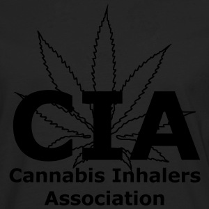 CIA - Cannabis Inhalers Association T-Shirts - Men's Premium Longsleeve Shirt