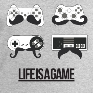 Life is a game (Femme) - Sweat-shirt Homme Stanley & Stella