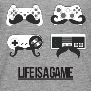 Life is a game (Femme) - T-shirt manches longues Premium Homme