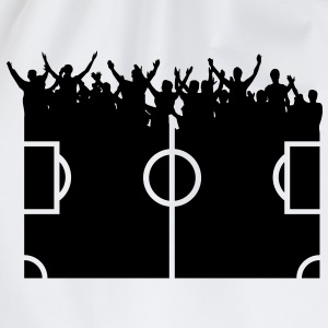 fans om voetbal  T-shirts - Gymtas