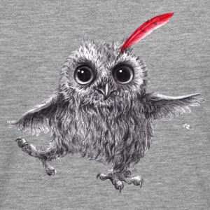Chief Red - Happy Owl - Premium langermet T-skjorte for menn