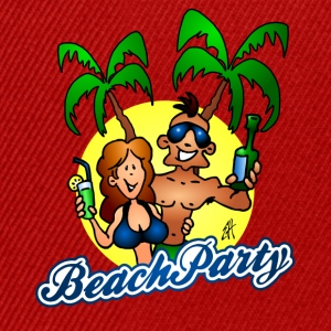Beach party T-shirts - Snapback cap