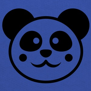 cute_panda_head T-shirts - Premium-Luvtröja barn