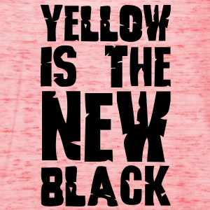 Yellow is the new black - Women's Tank Top by Bella