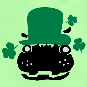 Hippo in green hat st.Patty's day Classic Teenager - Baby T-Shirt