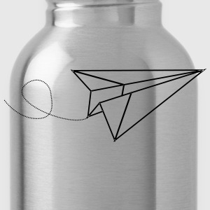 paper aeroplane T-Shirts - Water Bottle