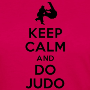 Keep calm and do Judo Tee shirts - T-shirt manches longues Premium Femme