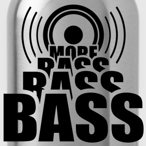 More BASS. Speaker Speaker Cab music T-shirts - Drinkfles