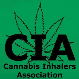 CIA - Cannabis Inhalers Association T-Shirts - Retro Bag
