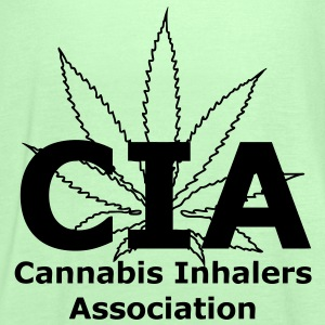 CIA - Cannabis Inhalers Association T-Shirts - Women's Tank Top by Bella