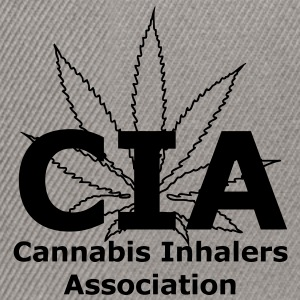 CIA - Cannabis Inhalers Association T-Shirts - Snapback Cap