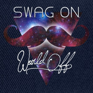 world off swag on T-Shirts - Snapback Cap