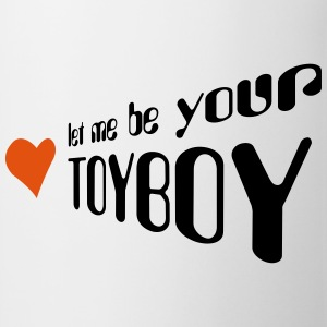 let me be your toyboy T-skjorter - Kopp