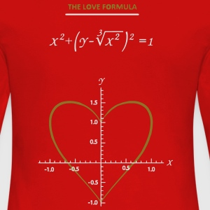 the_love_formula Tee shirts - T-shirt manches longues Premium Femme