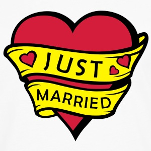 Just married - Men's Premium Longsleeve Shirt