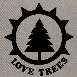 tree lover T-Shirts - Snapback Cap