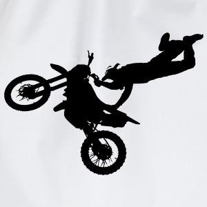 freestyle motorcyclist T-Shirts - Drawstring Bag