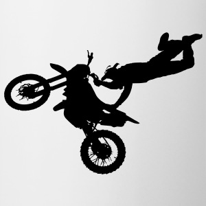 freestyle motorcyclist T-Shirts - Mug